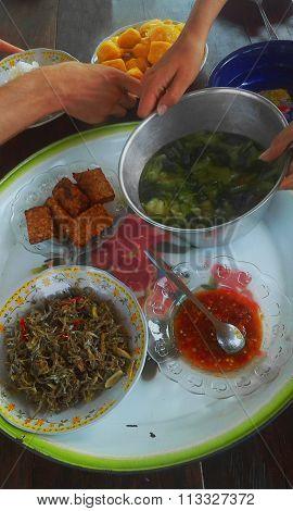 indonesian dinner