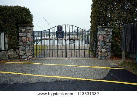 Walstrom Marine Gate