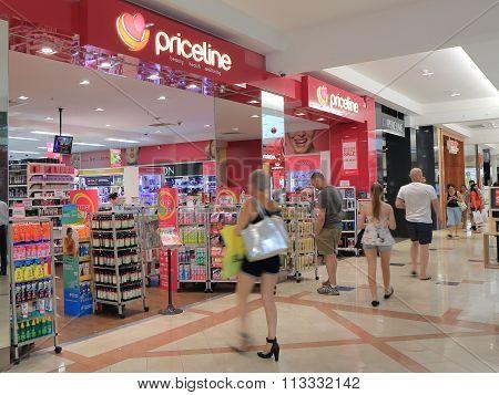 Priceline retail store Australia