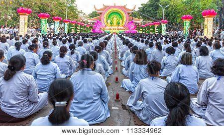 Buddhist group stage are valid towards Buddha Amitabha