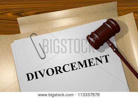 Divorcement Concept