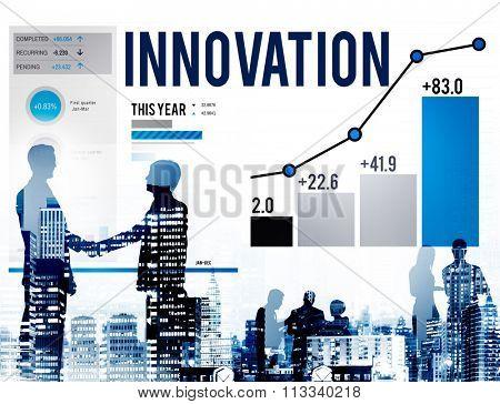 Innovation Innovate Inspiration Invention Imagination Concept