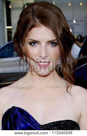 HOLLYWOOD, CALIFORNIA - July 27, 2010. Anna Kendrick at the Los Angeles premiere of