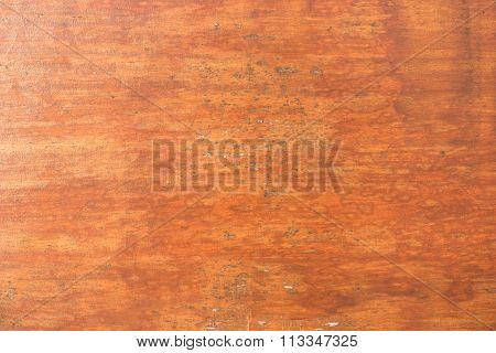 Weathered Brown Painted Wooden Board