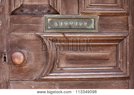 Front Door And Letterbox