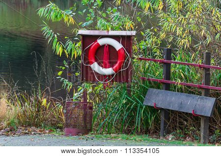 Lifebuoy And Rescue Board