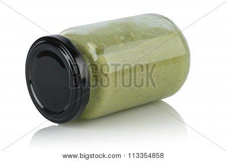 Glass Jar Wasabi