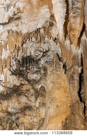 Karst Formations In The Cave.