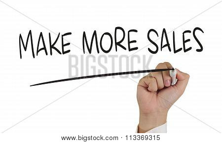 Make More Sales, Concept Typography