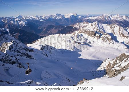 Verbier Ski Area From Mont Fort