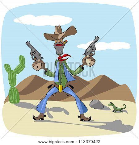 fearless cowboy