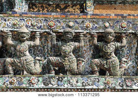 Wat Arun (temple of dawn) in Bangkok Thailand