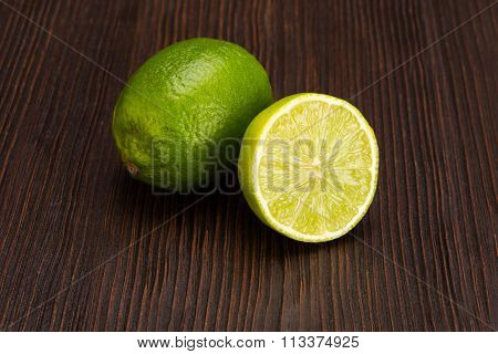 Group of fresh limes