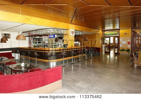Bar In Hotel.