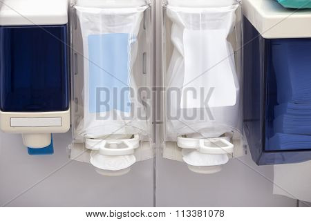 Soap Dispensers In Dental Clinic