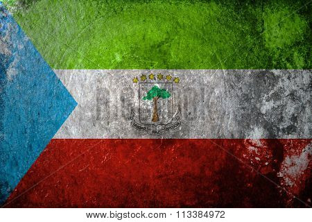 Equatorial Guinea Grunge