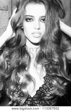Pretty Glamour Woman