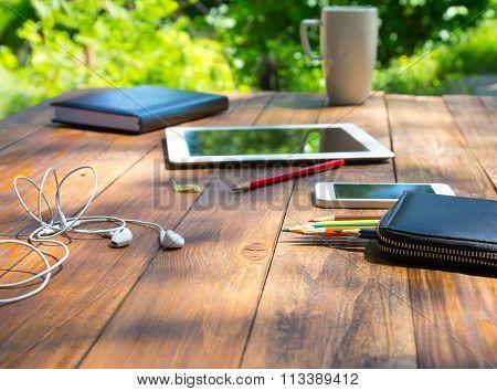 Modern lifestyle background