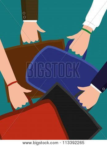 Carrying Briefcases and Laptop Bags