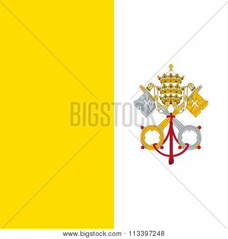 Standard Proportions For Vatican City Flag