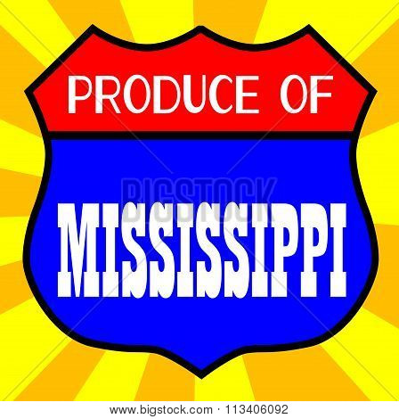 Produce Of Mississippi