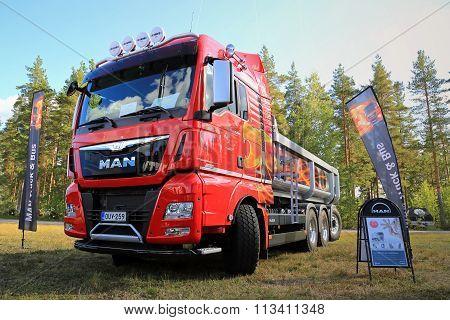 New MAN D38 Tipper Truck