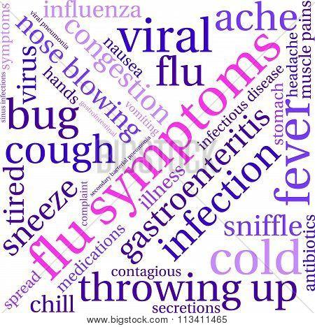 Flu Word Cloud