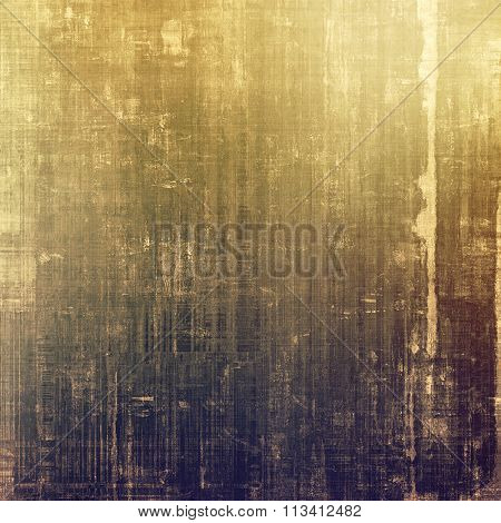 Abstract textured background designed in grunge style. With different color patterns: yellow (beige); brown; purple (violet); gray