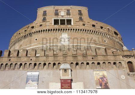 Castel Sant'angelo Frontal Facade
