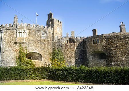 Walmer castle in England.