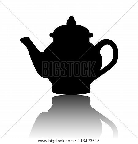 Tea maker. Vector illustration