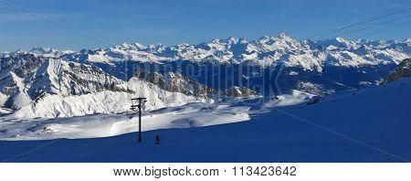 View From Glacier De Diablerets