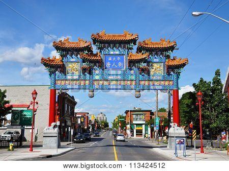 Chinatown in Ottawa, Canada