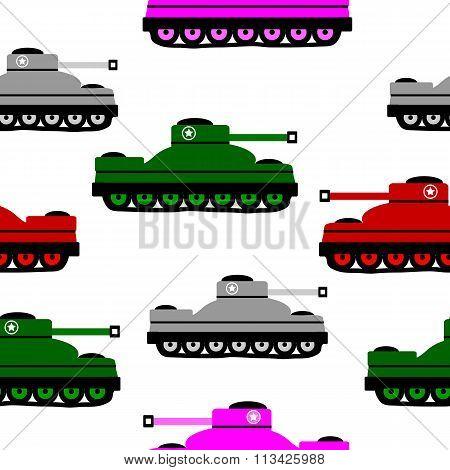 Panzer Icons On White.
