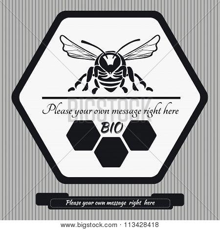 Emblem for honey