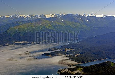 Coastal Clouds Viewed From Above