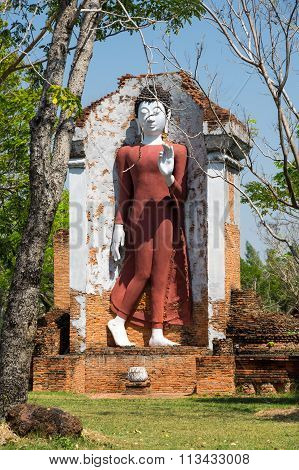 Buddha Statue In Mueang Boran