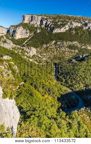 Verdon River And Nature Around-provence,france