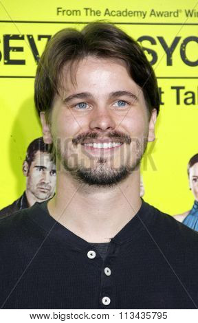 Jason Ritter at the Los Angeles premiere of