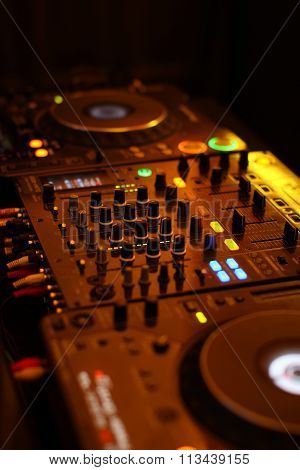 Table for DJ
