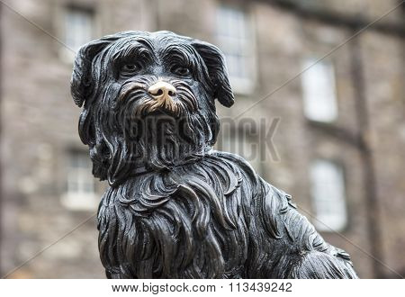 Greyfriars Bobby In Edinburgh