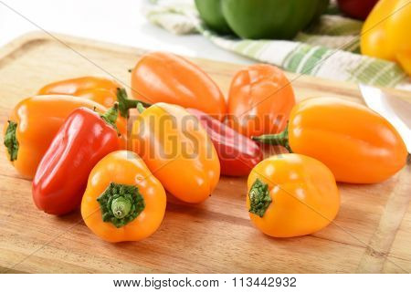Fresh Assorted Bell Peppers