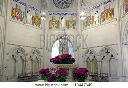Fountain In Saint John Divine Church