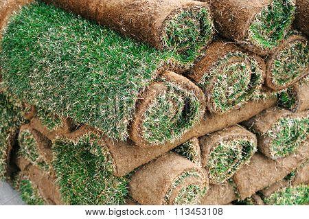 stacking turf carpet