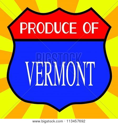 Produce Of Vermont