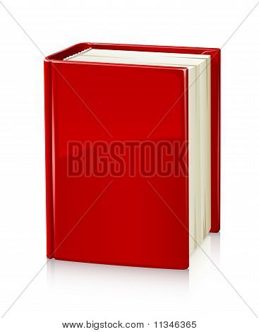 Book With Red Cover