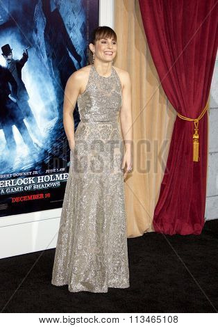Noomi Rapace at the Los Angeles Premiere of