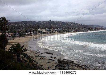 The World Famous, Laguna Beach is a seaside resort city located in southern Orange County, California, United States. During the El Nino Storms of 2016