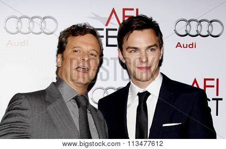 Colin Firth and Nicholas Hoult at the AFI FEST 2009 Screening of