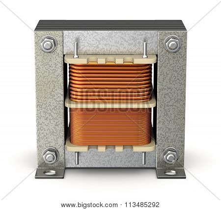 Electric shell transformer